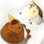 Soufflè al cioccolato fondente